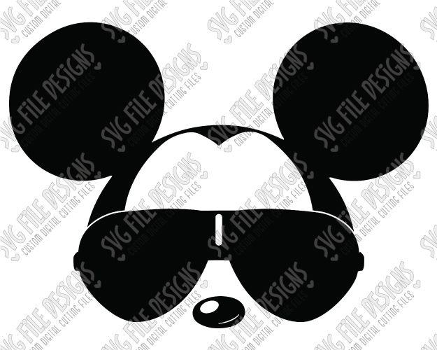 Silhouette Aviator Minnie