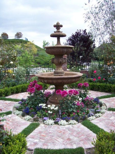 english garden fountains water features 17 Best images about Garden - Water features on Pinterest