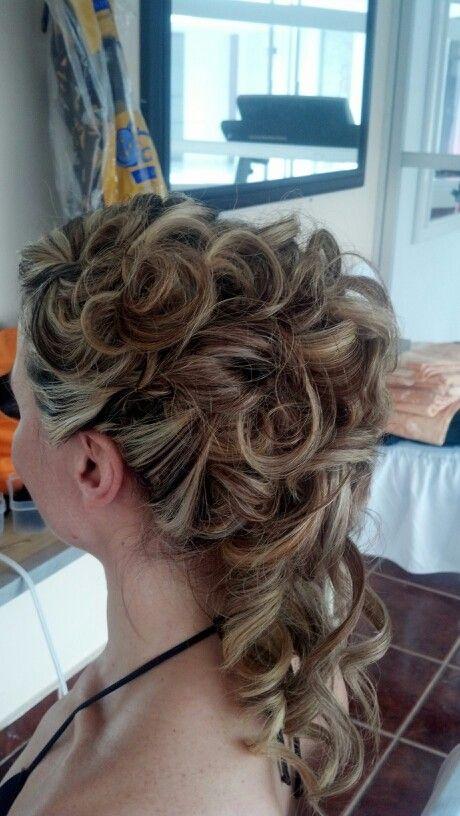 Chongo Cascada Peinados Pinterest Hair Style