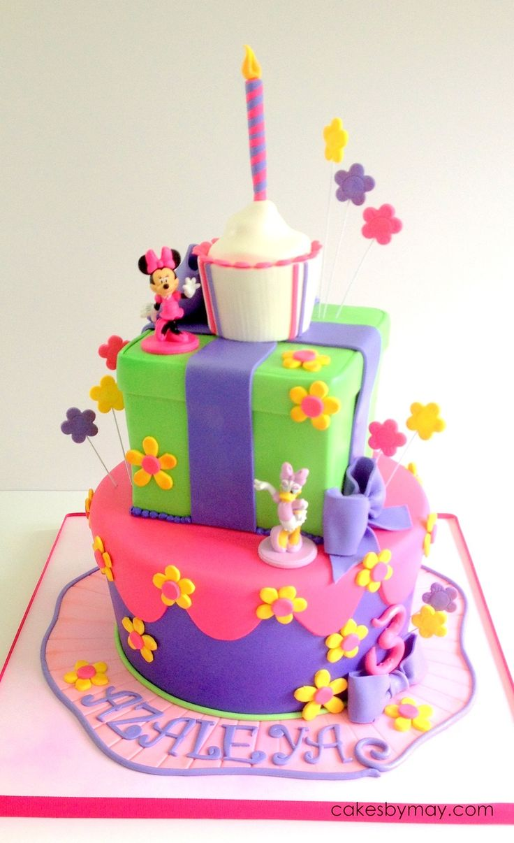 Minnie And Daisy Birthday Children S Cakes Pinterest