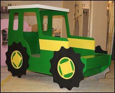 Tractorbed Johndeeretractorthemebed Farmtheme