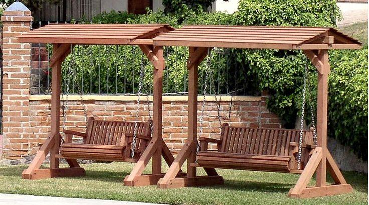25+ Best Ideas About Wooden Garden Benches On Pinterest