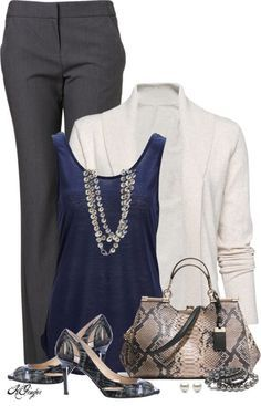 Simple Style for a Gorgeous Look : 31 Casual Work Outfits Polyvore Ideas – Be Modish – Be Modish: