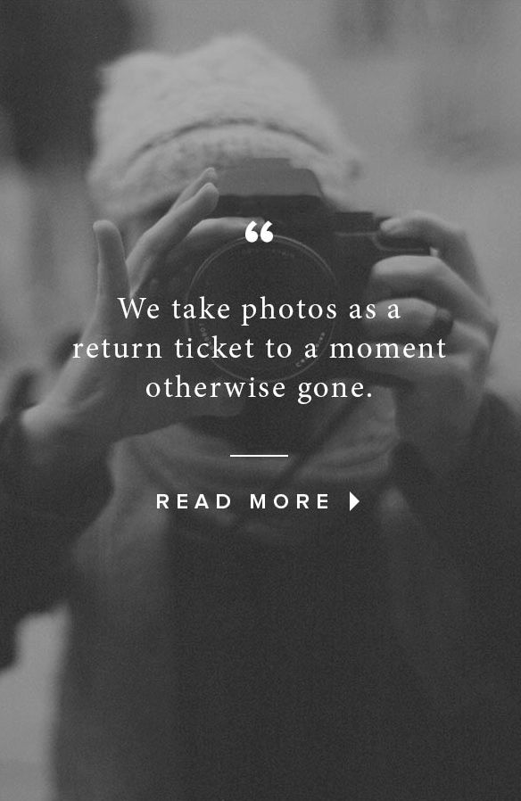 We take photos as a return ticket to a moment otherwise gone. — @Artifact Uprising