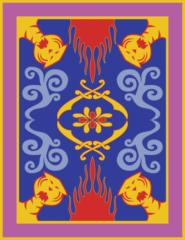 Minimalist Aladdin Poster -- Magic Carpet | Geek Love ...