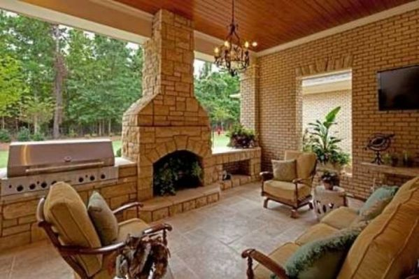 covered outdoor kitchens and patios 17 Best ideas about Covered Outdoor Kitchens on Pinterest