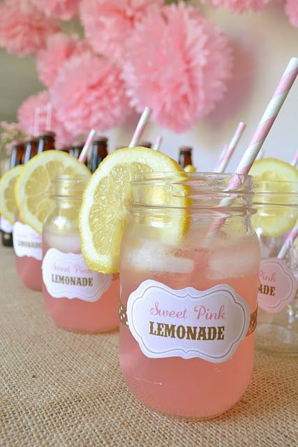 Cowgirl birthday party ideas  cute drink idea for the adults. @stephanie I have about 50 of these jars and the straws were on