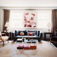 お宅拝見:画商と家具屋の夫婦のNYのエクレクティックなアパート