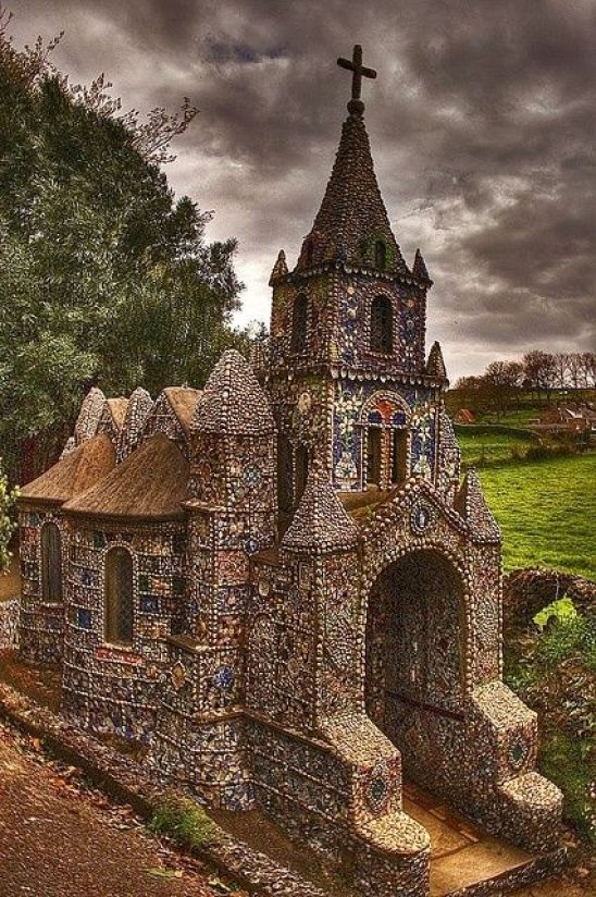 Little Chapel in Guernsey: