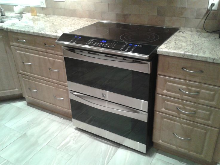 Slide In Stove With Double Oven For The Home Pinterest Double Ovens Stove And Ovens
