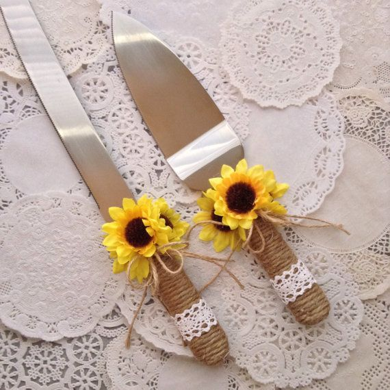Fall Wedding Knife Set