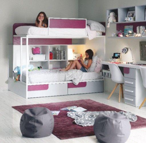 Habitacin Infantil Con Litera De La Coleccin Ringo De Kibuc Dormitorios Para Nios Y