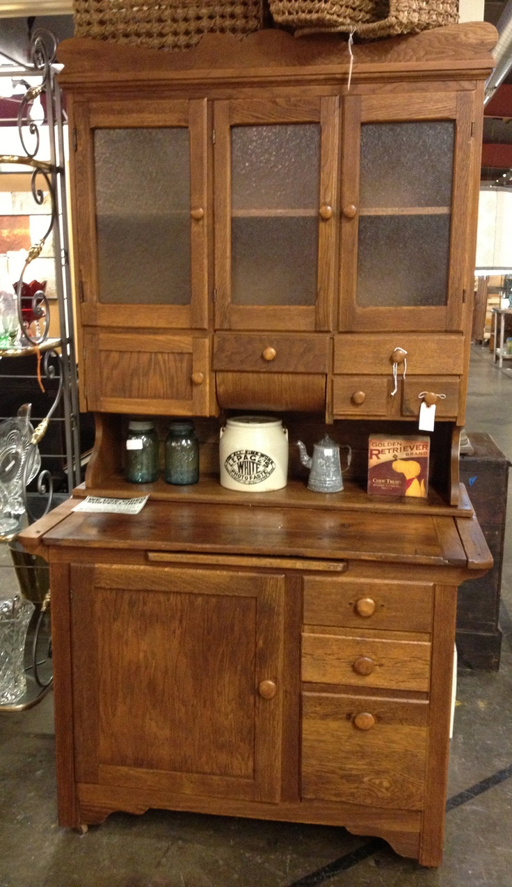 17 best images about hoosier cabinets gonna build one on pinterest appliance garage just on kitchen hutch id=34649