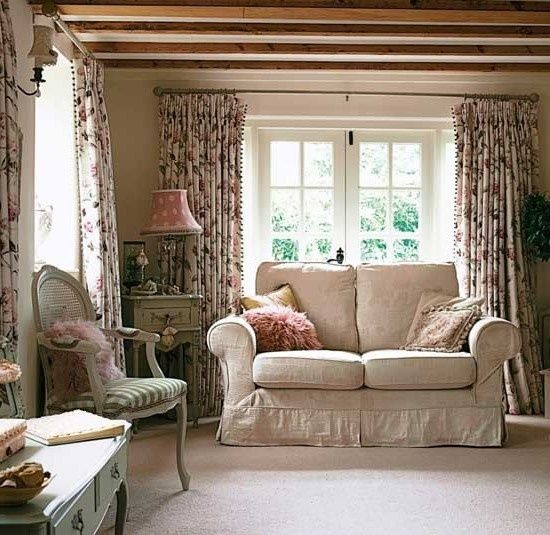 English Country Cottage Decor Cozy Up With A Lovely Cuppa Tea Here In This Sitting