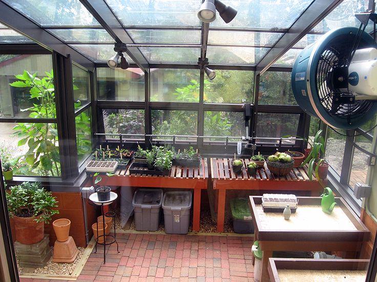 Interior Beuno Vista Residential Greenhouse Greenhouses