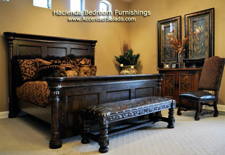 Hacienda Furniture Spanish Hacienda Bedroom Decorating