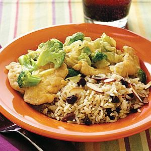 #Creamy #Chicken and #Broccoli #Curry | MyRecipes.com: