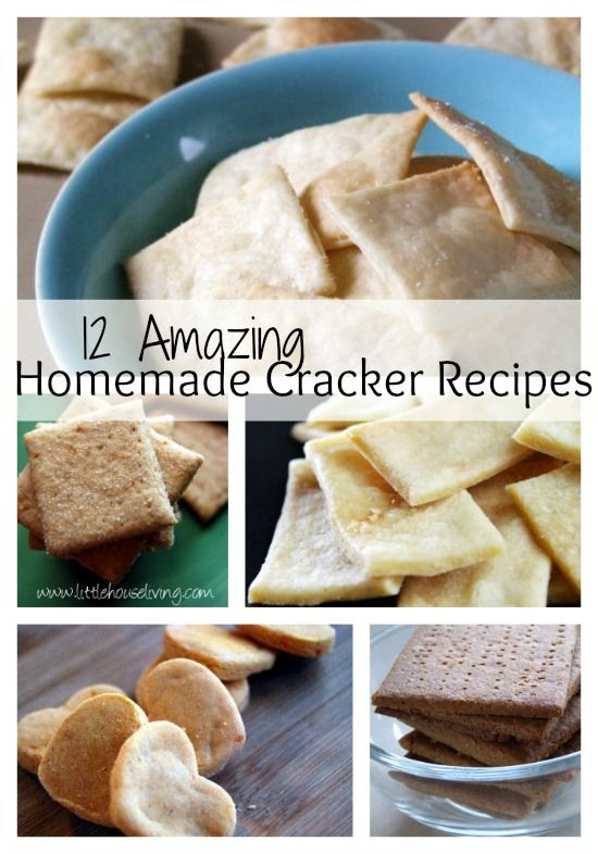 Homemade Cracker Recipes. You have to try some of these, you will never go back to store bought!