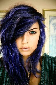 25 best ideas about indigo hair on pinterest dark blue hair dark blue hair dye and blue hair