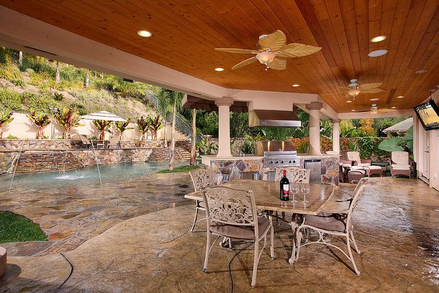 17 Best images about Patio covers on Pinterest   Outdoor ... on Backyard Patio Patio Cover Ideas  id=22283