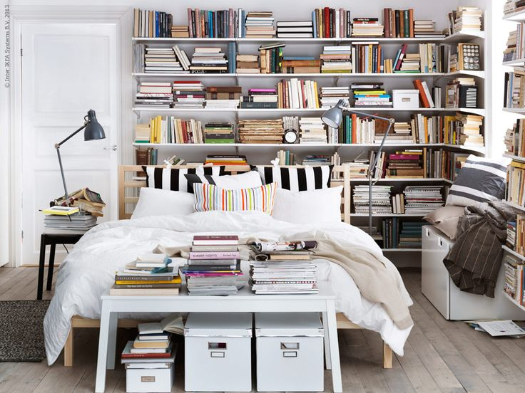 17 Best Ideas About Library Bedroom On Pinterest