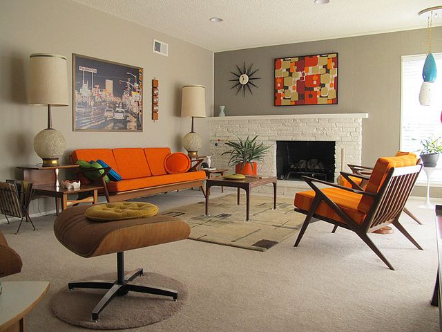 25+ Creative Retro Living Rooms Ideas To Discover And Try