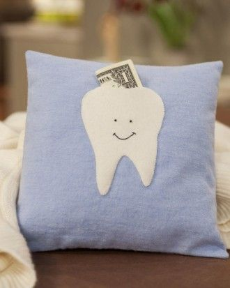 "See the ""Tooth Fairy Pillow"" in our Easy Sewing Projects for Beginners gallery"
