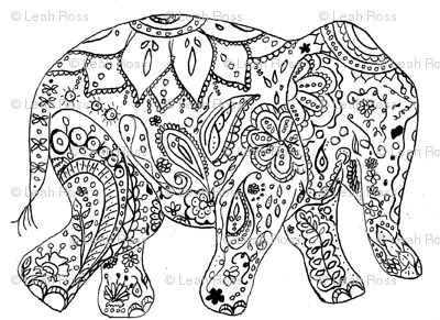 17 best images about coloring pages on pinterest dovers painted elephants and coloring pages