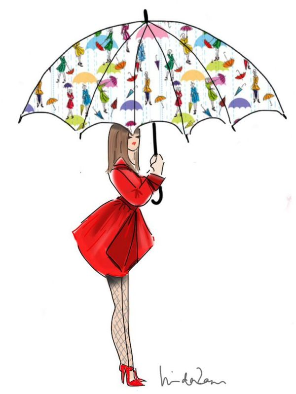381 best images about Umbrellas illustrations on Pinterest ...