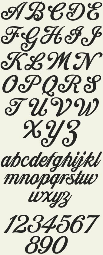 85 best images about printable letters & large font on ...