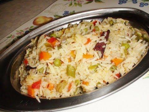 Recipe Veg Pulao Madhura