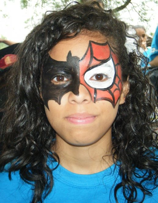17 Best ideas about Superhero Face Painting on Pinterest ...