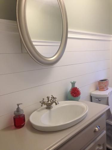 KOHLER Serif Drop In Vitreous China Bathroom Sink In White