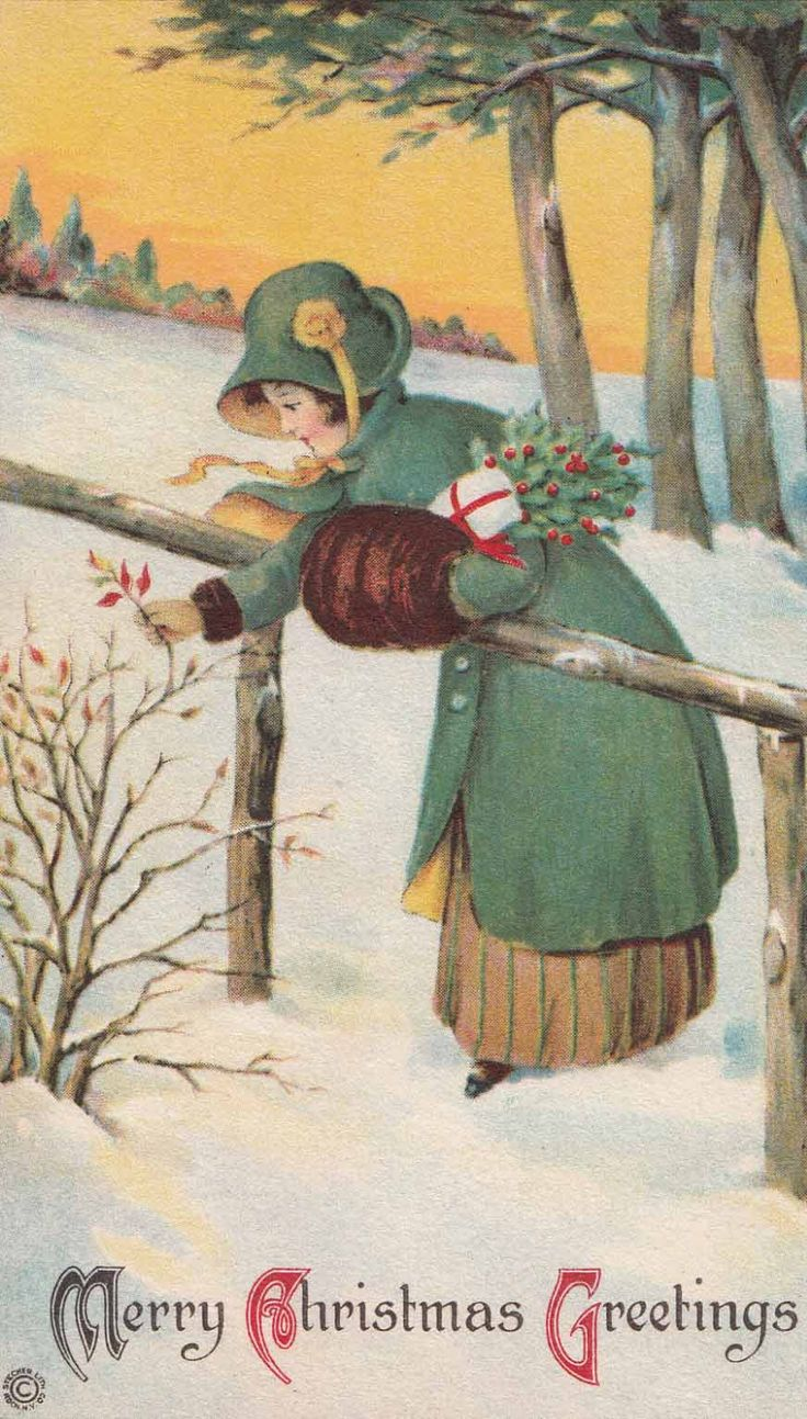 420 Best Victorian Christmas Images On Pinterest