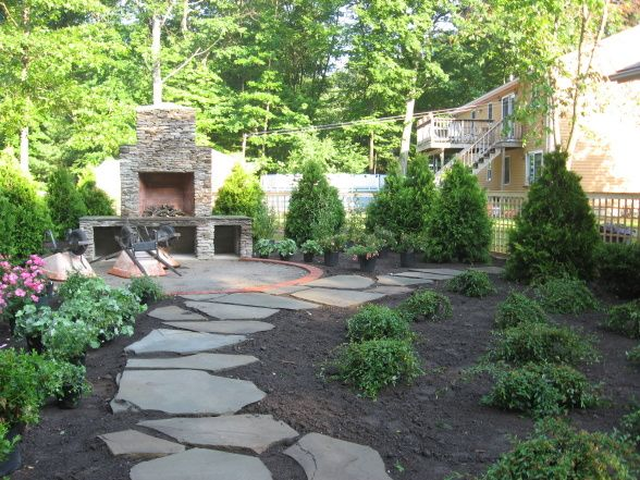 17 Best images about Backyard Ideas on Pinterest | The ... on Backyard Landscaping Ideas No Grass  id=24809