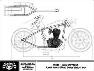 suzuki savage chopper blueprint | voodoo classics