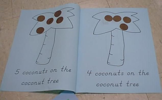 Free Chicka Counting Book Printable Chicka Chicka Boom Boom Pinterest Coconut New Ideas
