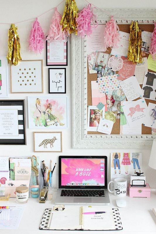 The Trendy Sparrow: Working From Home: Motivational Surroundings: