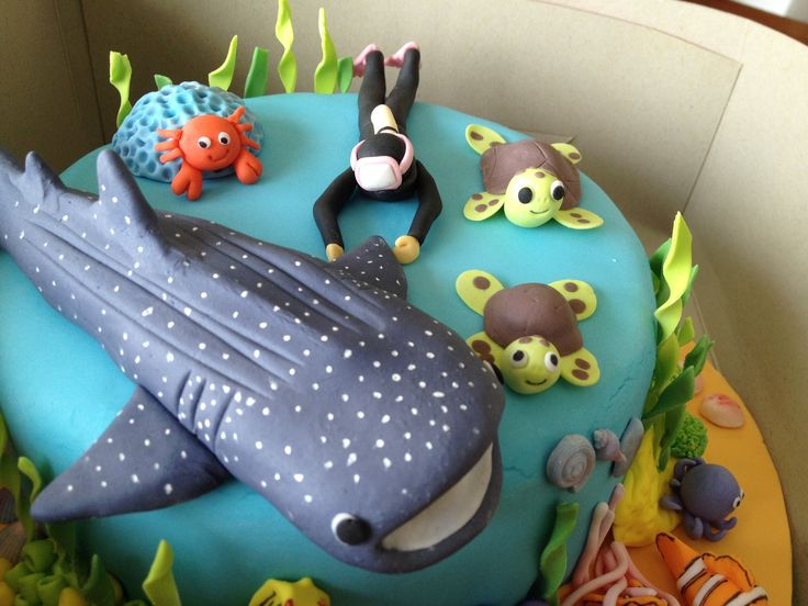 Scuba Diving Cakes Google Search Fondant Cake