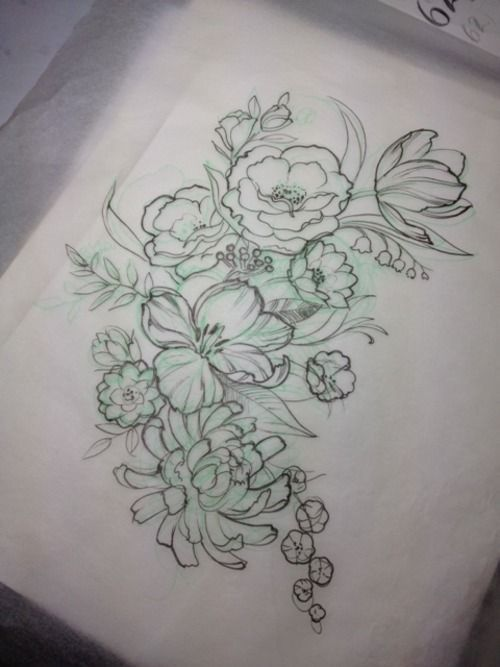 This would br a perfect tattoo – so feminine and soft