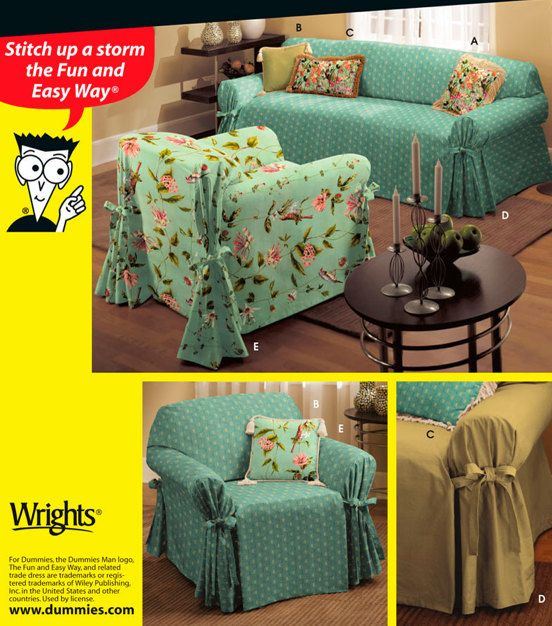 Sofa Slipcover Sewing Patterns | Glif.org