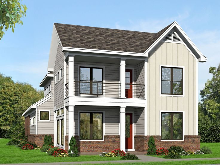 25+ Best Ideas About Narrow Lot House Plans On Pinterest