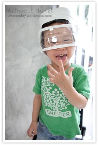 DIY - Cute Astronaut Helmet, and make a cardboard ...
