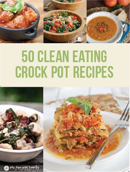 The 50 best clean eating crock pot recipes! Get all your healthy treats for your fit lifestyle at a Duane Reade around the corner.