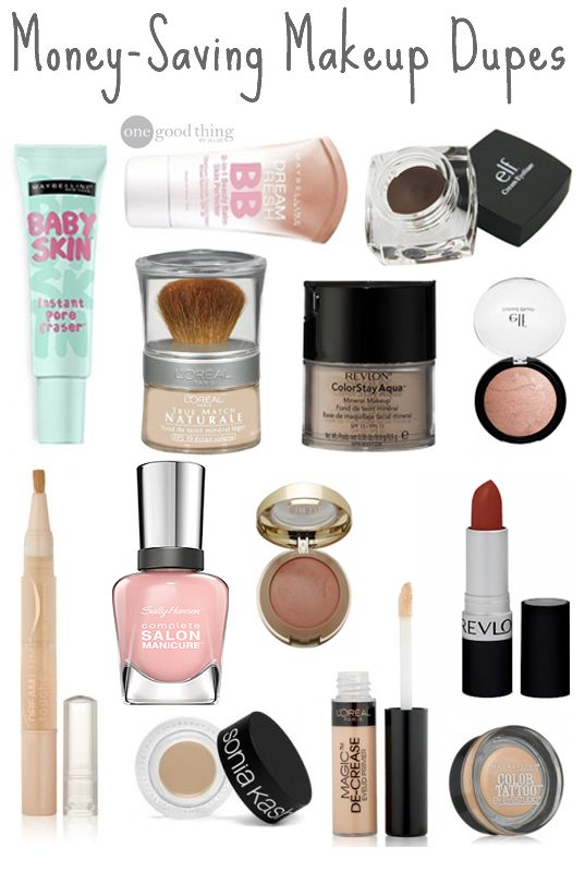 Tired of overspending on makeup? Check out this list of budget-friendly Makeup Dupes to find inexpensive alternatives to all of