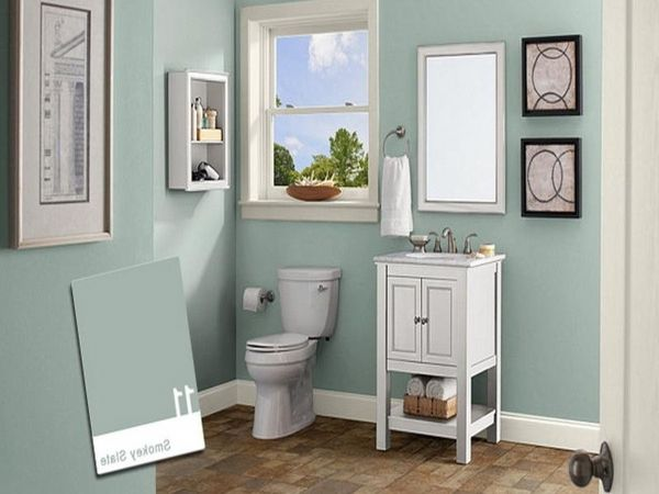 25+ Best Ideas About Small Bathroom Paint On Pinterest