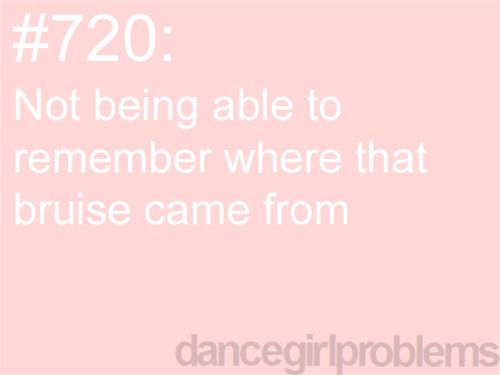 This doesnt just applied to dance I have this problem all the