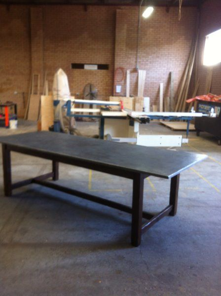 Top Creating A Stunning Zinc Topped Table With Table