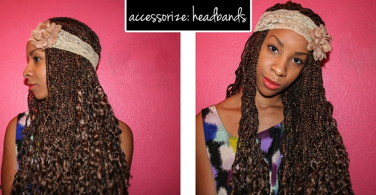 Accessorize Box Braids Headbands Braids Twists And