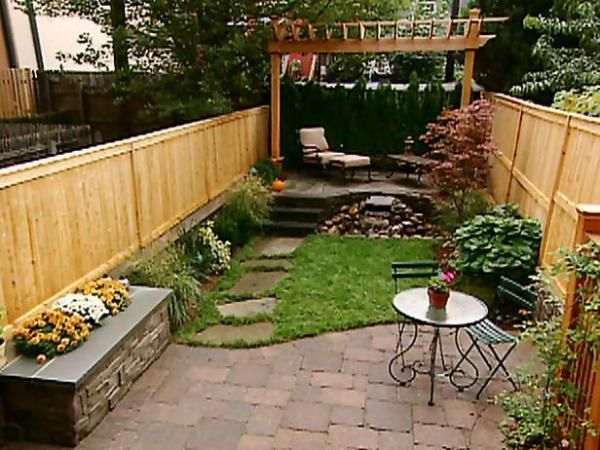 17 Best Ideas About Small Backyards On Pinterest